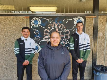 Tyren and Nick graduate to outstanding Aboriginal role models
