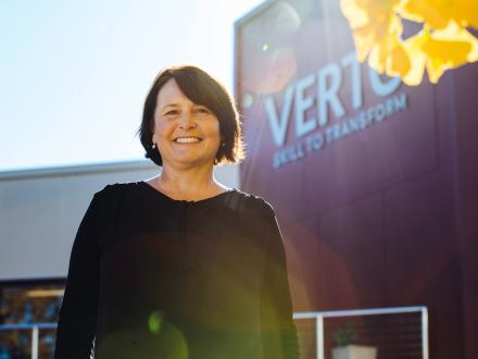 Kylie part of history as new financial counselling service launches at VERTO