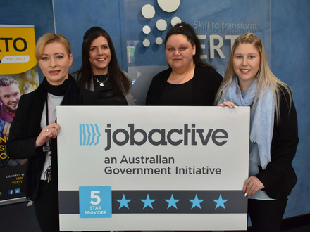 Five Stars for Lithgow jobactive team