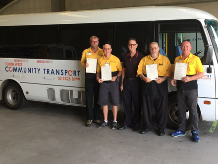 Skills Checkpoint Keeps Community Bus Drivers on the Road
